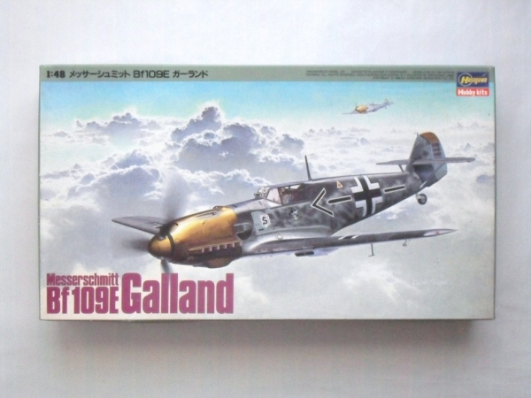 J4 MESSERSCHMITT Bf 109E GALLAND
